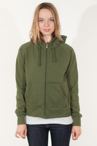 Canso Women's 16oz Zip-Up Hoodie