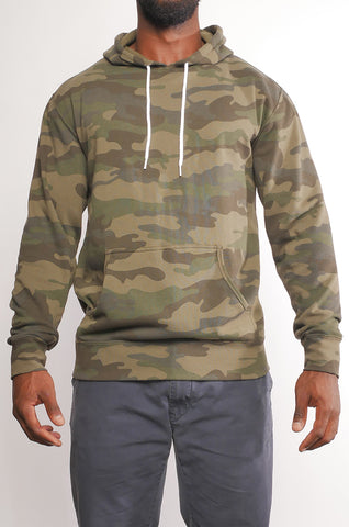 CMF-003 Unisex Camo Pullover Hoodie