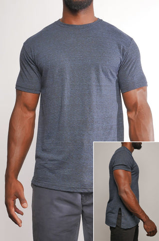 I8T-001 Men's Indie Side Split Tech Tee
