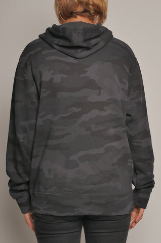 CMF-003w Unisex Camo Pullover Hoodie