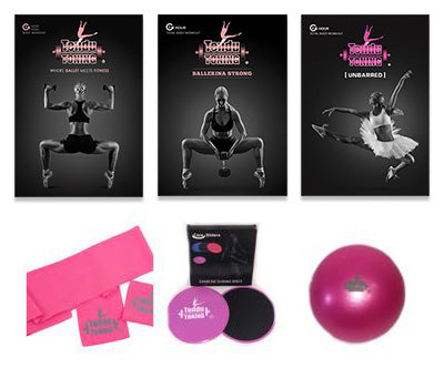 The Ultimate Tendu Toning® Dvd Combo kit *PREORDER ONLY. SHIPS NOVEMBER 1