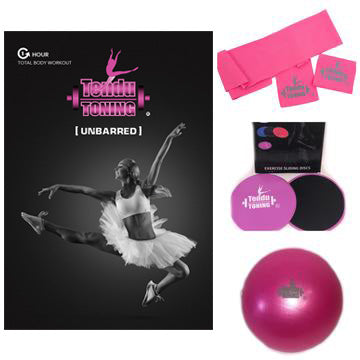 "Tendu Toning® #3 ""Unbarred"" DVD Combo kit"