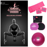 Tendu Toning® #2 Ballerina Strong DVD and equipment combo kit