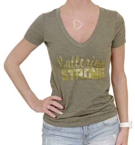 Army green ballerina strong shirt