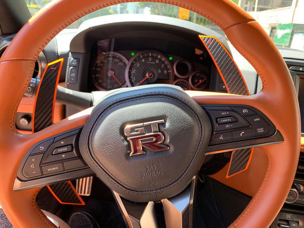 Recent pics of R35 GT-R Shifters