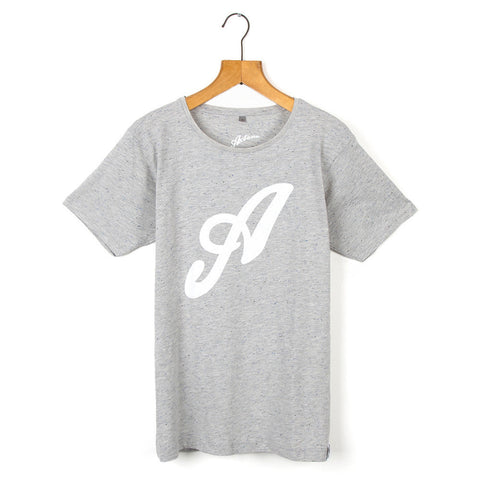 """Mode"" Speckled-Grey Tee"
