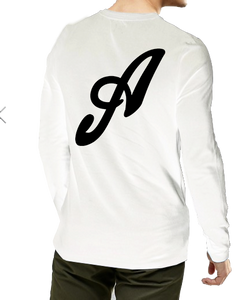 Axtone White Long Sleeve T-Shirt