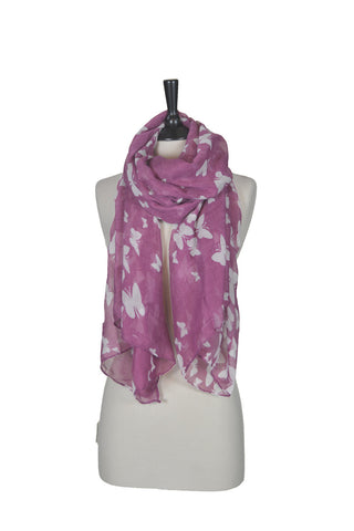The Butterfly Scarf - Pink