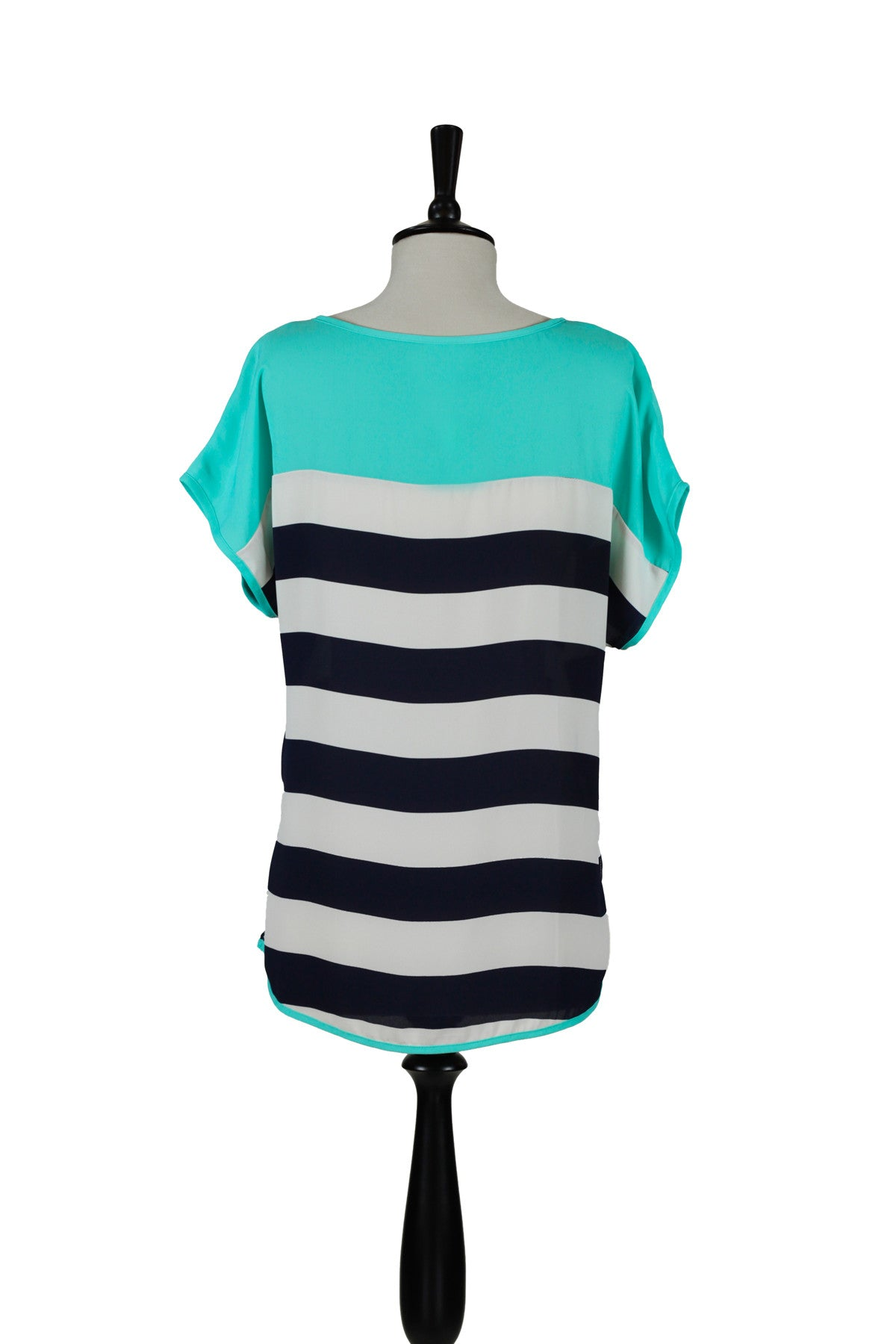 Charlotte Striped Top - Mint