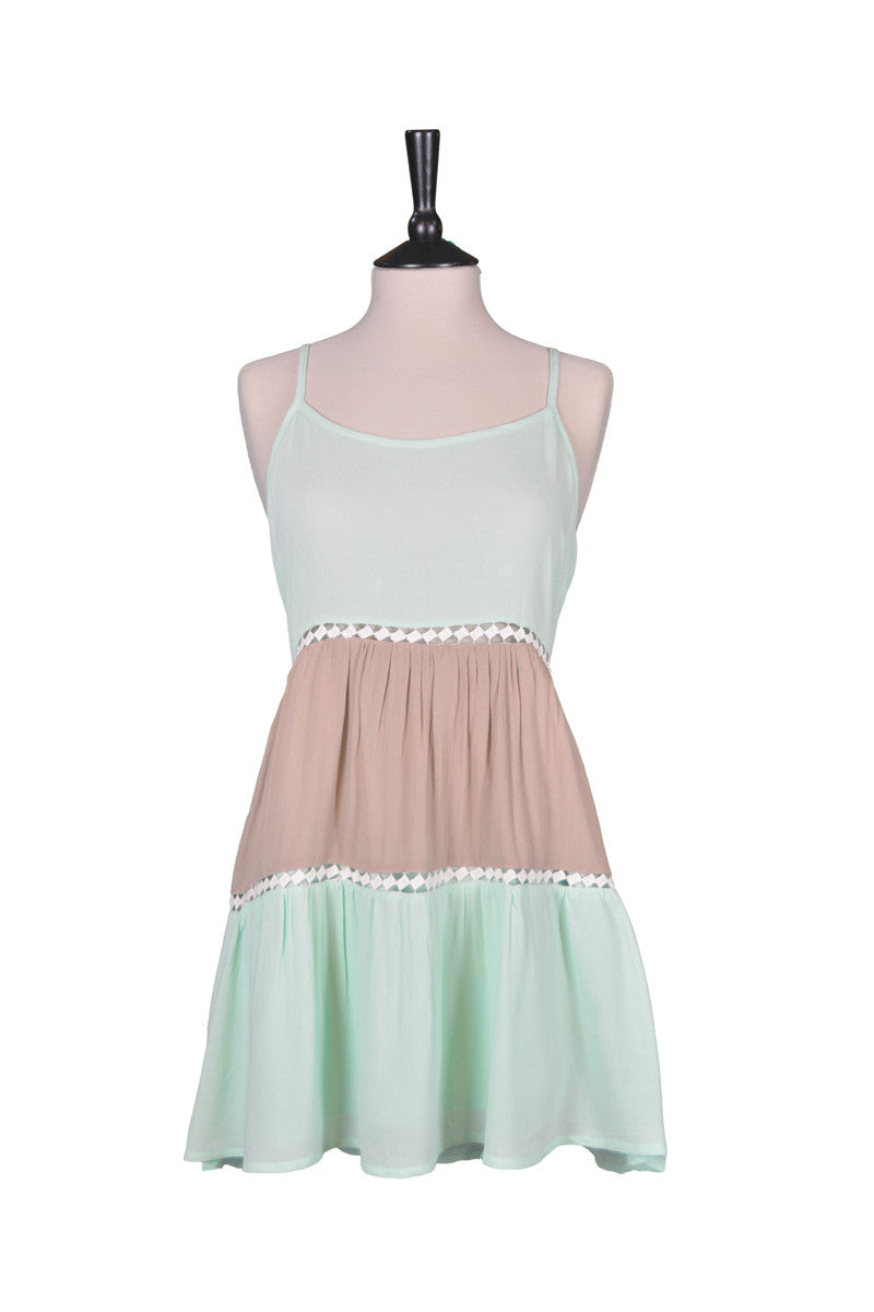 Daria Sleeveless Dress - Mint