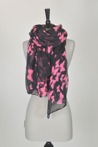 The Butterfly Scarf - Black