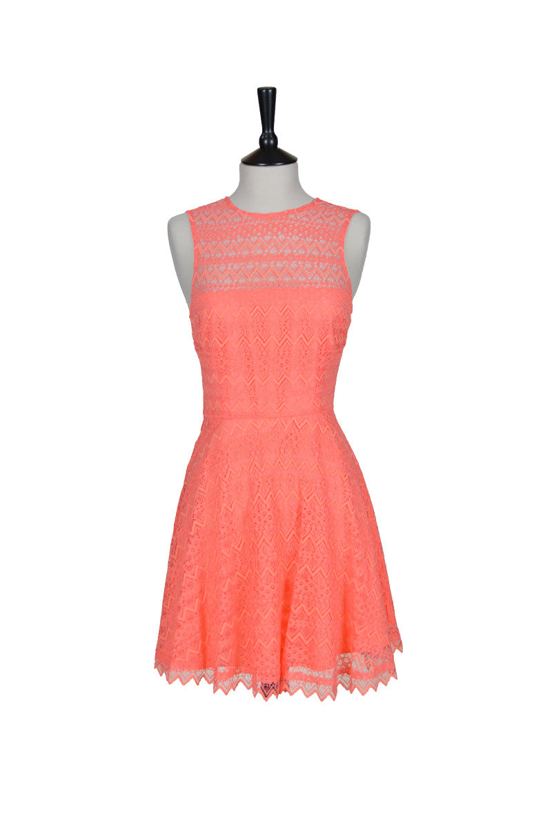 Élodie Scallop Lace Dress