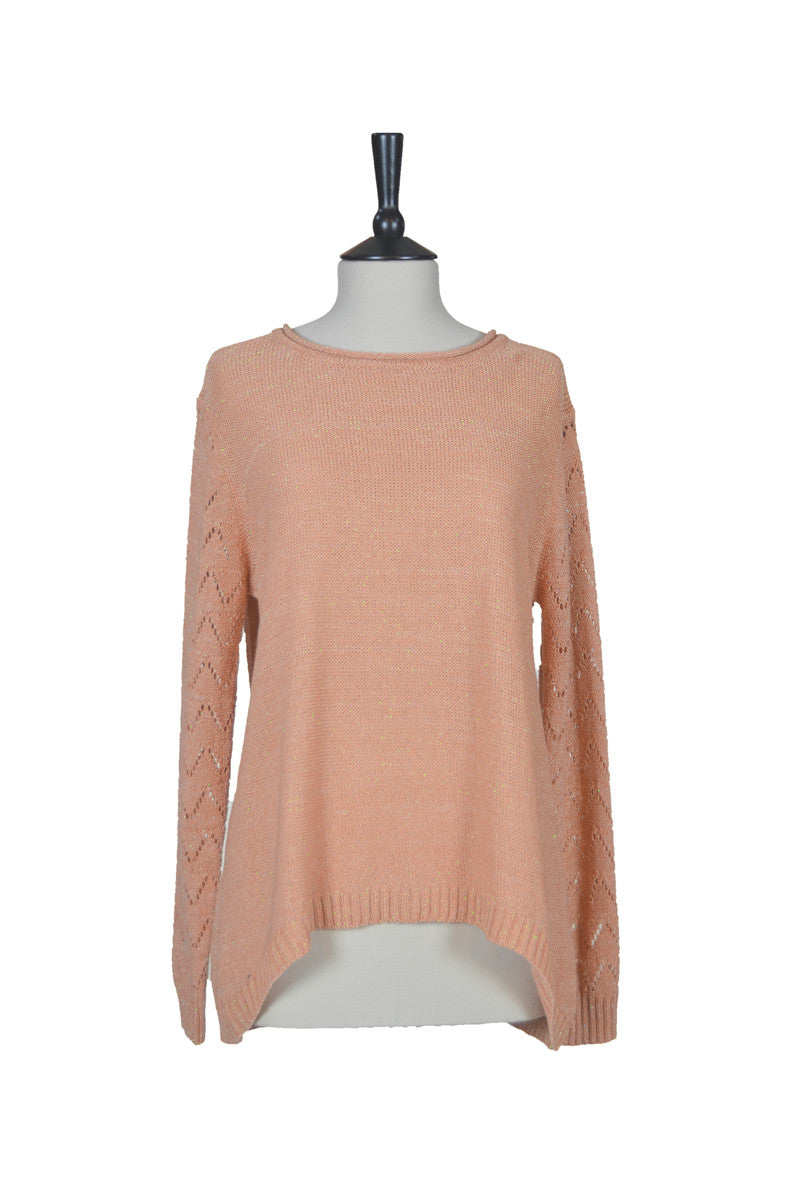 Gaby Sweater - Light Cinnamon
