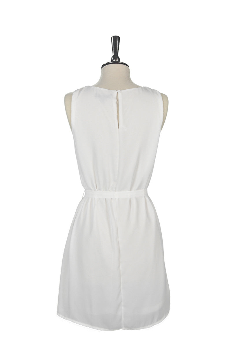 Géraldine Dress - White