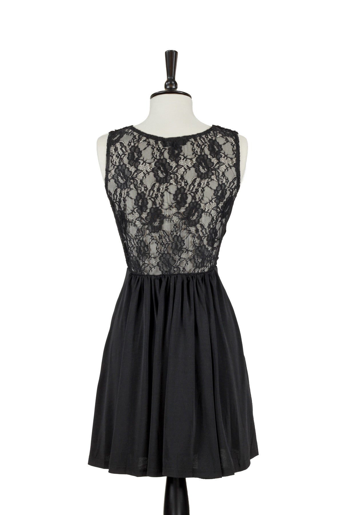 Letizia Lace Dress - Black