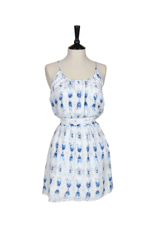 France Mocassin Printed Dress