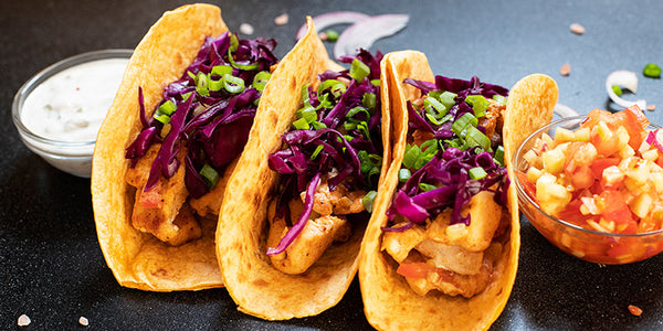 Sous Vide Chicken Tacos