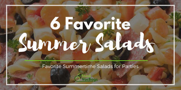 6 Super Easy & Low Cost Summer Salads For Parties