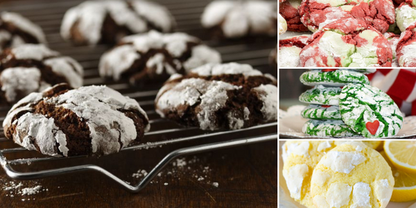 4 Crinkle Cracked Cookie Flavor Recipes
