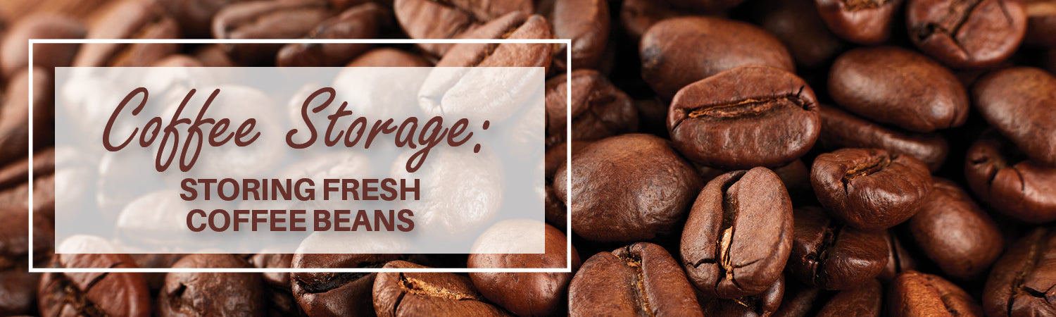 Coffee Storage Storing Fresh Coffee Beans