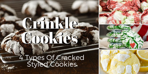 best crinkle cracked cookies Christmas