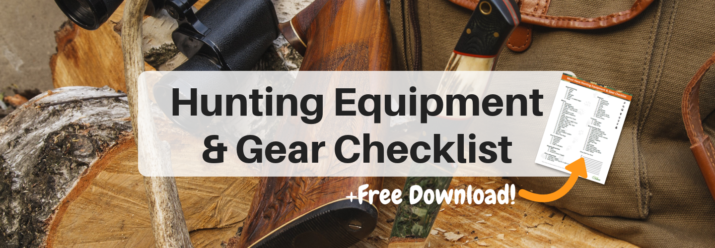 d820fbb1129a1 Must Have Hunting Equipment & Gear Checklist - Beginners to Experts –  FoodVacBags
