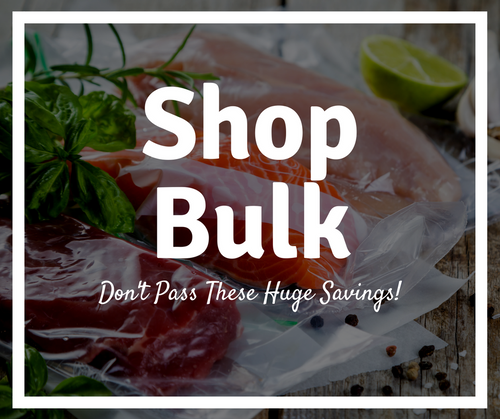 Need even bigger savings? Shop our bulk food saver bags and rolls