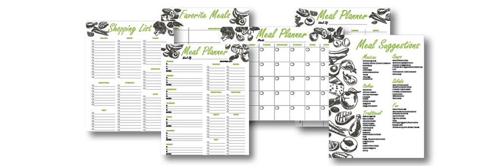 Meal Planner Charts