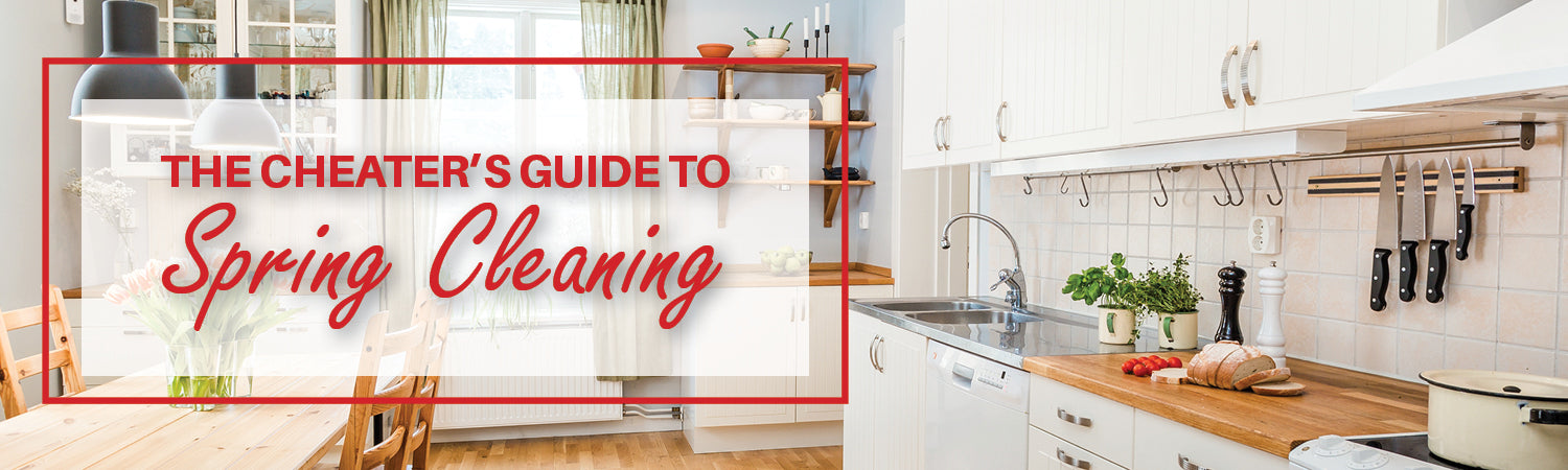 The Cheater's Guide to Spring Cleaning