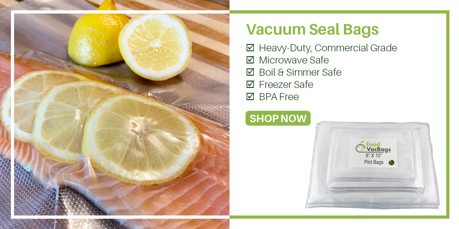 Vacuum Sealer Bags | Commerical Grade | Heavy Duty | Microwave Safe | Boil Safe | BPA Free