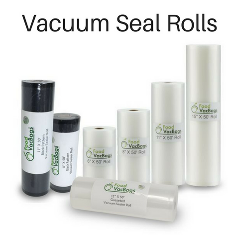 vacuum seal bags rolls foodsaver bags rolls alternative best generic create own
