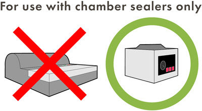 for use with chamber sealers