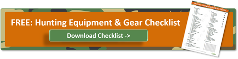 download free hunting equipment gear checklist