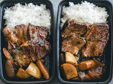 meal prep idea slow cooked beef roast