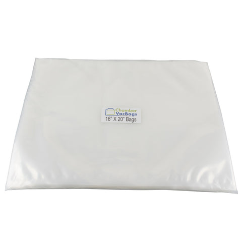 "16"" X 20""  FoodVacBags 3 mil Chamber Sealer Pouches"