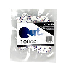 100cc Oxygen Absorbers O2 Out O2Out