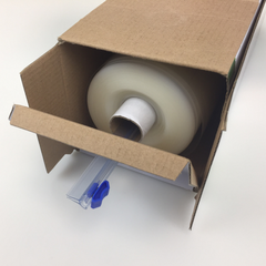 "11"" X 100' Bulk Vacuum Sealer Roll In Dispenser Box With Cutter"