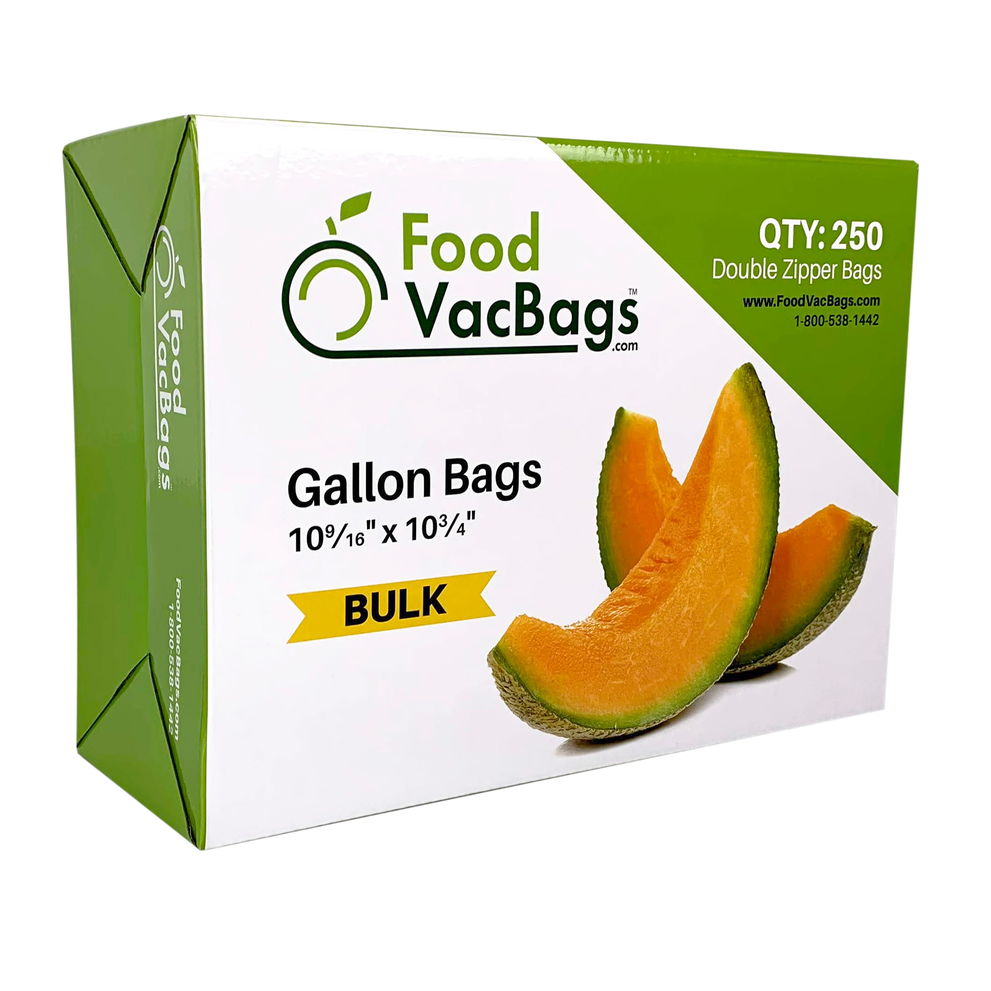 Gallon Double Zipper Ziploc Reclosable Bags 2.7 MIL