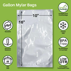 Gallon Mylar Bags from FoodVacBags