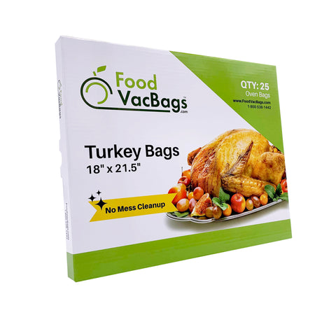 "Turkey Oven Bags 18"" x 21.5"""
