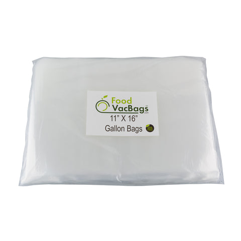 "11' x 16"" Gallon-size food saver bags - Food Storage bags"