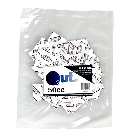 O2Out Oxygen Absorbers 50cc