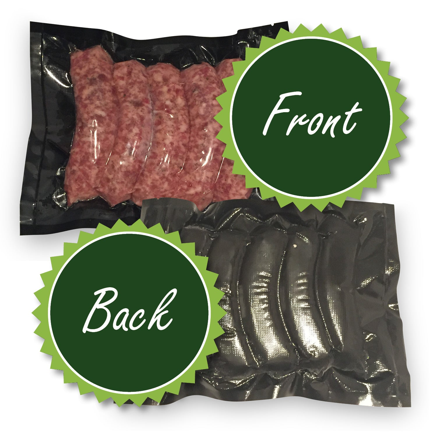Black Vacuum Seal Bags