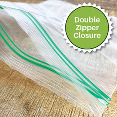 Double Zipper Ziploc Reclosable Bags
