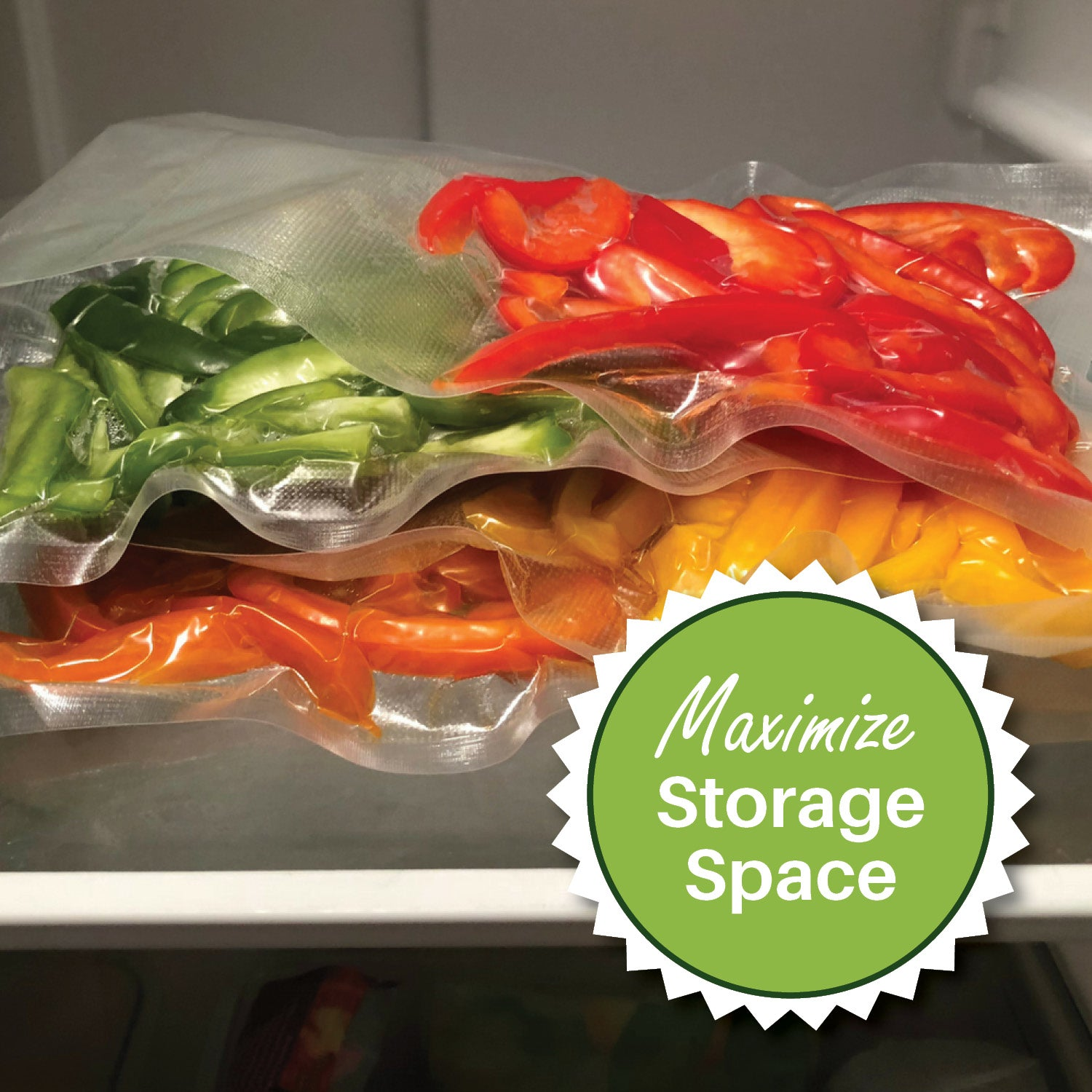 Maximize Storage Space with FoodVacBags