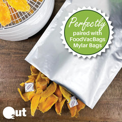 FoodVacBags Mylar Bags and O2 Out Oxygen Absorbers