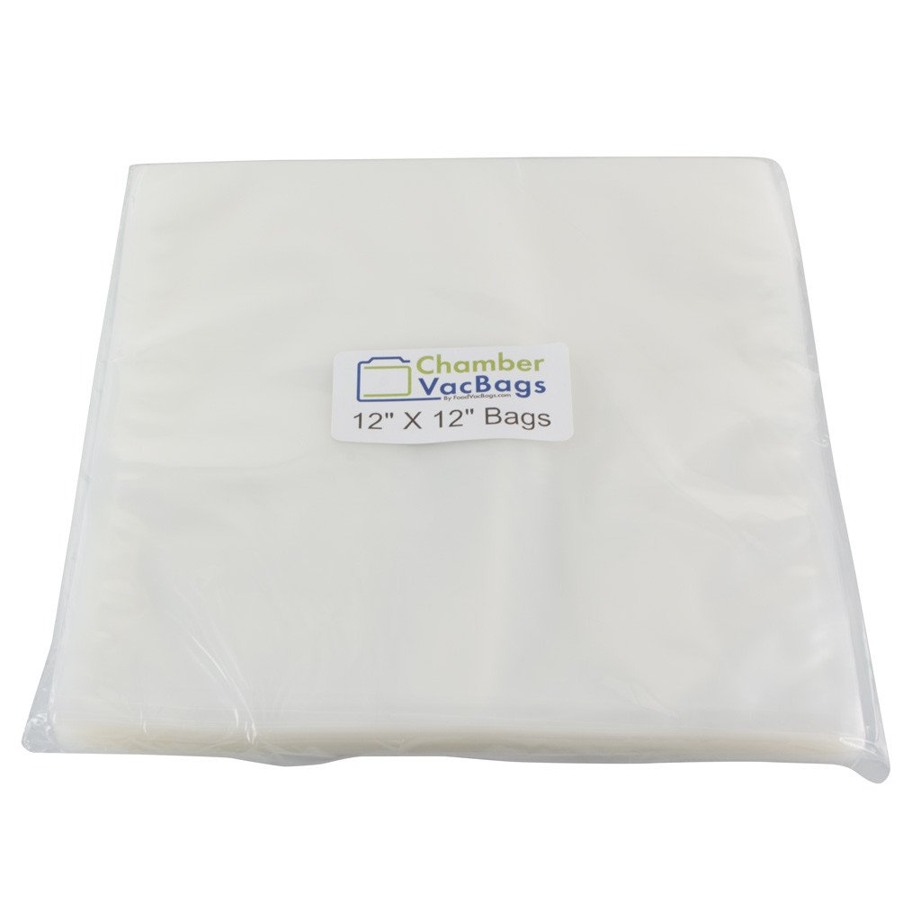 "Chamber Sealer Pouches - 12' X 12"" ChamberVacBags 3mil Chamber Sealer Pouches"