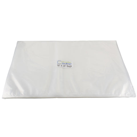 "Chamber Sealer Pouches - 16"" X 26"" ChamberVacBags 3 Mil Chamber Sealer Pouches"