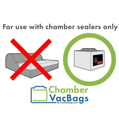 For Chamber Sealers Only - Does not work with vacuum sealers