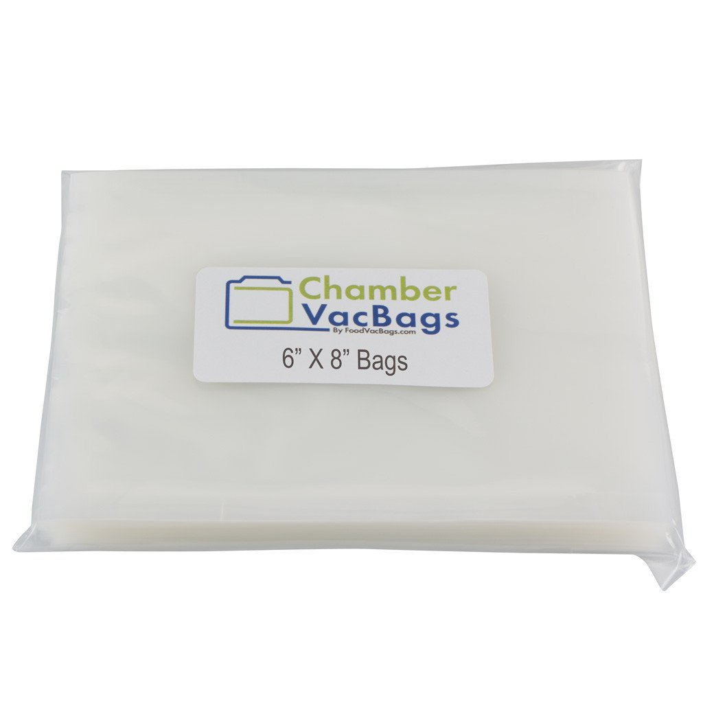 "Chamber Sealer Pouches - 6"" X 8"" ChamberVacBags 3mil Chamber Sealer Pouches"